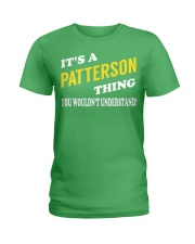 Its a PATTERSON Thing - Name Shirts Ladies T-Shirt tile