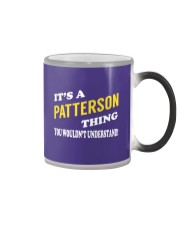 Its a PATTERSON Thing - Name Shirts Color Changing Mug tile