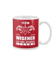 Team WISENER Lifetime Member - Name Shirts Mug thumbnail