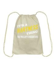 Its a HARTNESS Thing - Name Shirts Drawstring Bag thumbnail