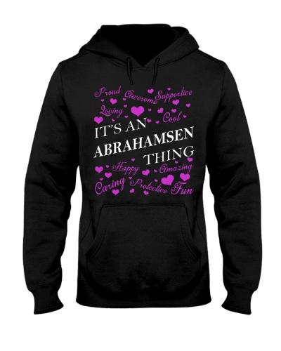 Its an ABRAHAMSEN Thing - Name Shirts