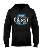 Team CASEY - Lifetime Member Hooded Sweatshirt front