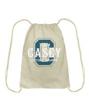 Team CASEY - Lifetime Member Drawstring Bag thumbnail