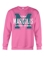 Team MARGOLIS - Lifetime Member Crewneck Sweatshirt thumbnail