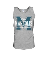 Team MARGOLIS - Lifetime Member Unisex Tank thumbnail
