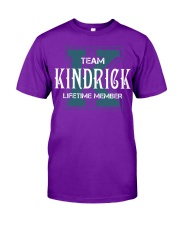 Team KINDRICK - Lifetime Member Classic T-Shirt thumbnail