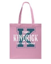 Team KINDRICK - Lifetime Member Tote Bag thumbnail