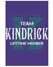 Team KINDRICK - Lifetime Member 11x17 Poster thumbnail