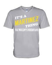 Its a MARTINEZ Thing - Name Shirts V-Neck T-Shirt thumbnail