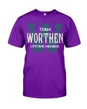 Team WORTHEN - Lifetime Member Classic T-Shirt thumbnail