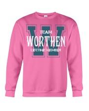 Team WORTHEN - Lifetime Member Crewneck Sweatshirt thumbnail