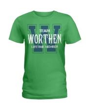 Team WORTHEN - Lifetime Member Ladies T-Shirt thumbnail