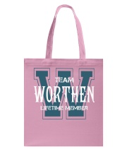 Team WORTHEN - Lifetime Member Tote Bag thumbnail