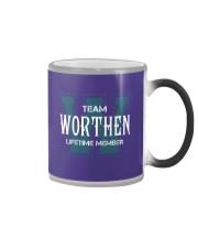 Team WORTHEN - Lifetime Member Color Changing Mug thumbnail