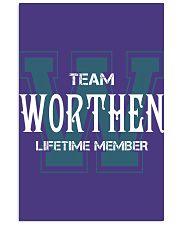 Team WORTHEN - Lifetime Member 11x17 Poster thumbnail