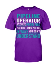 Pipeline Operator - Solve Problems Job Shirts Classic T-Shirt thumbnail