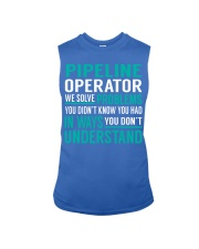 Pipeline Operator - Solve Problems Job Shirts Sleeveless Tee thumbnail