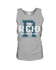 Team REID - Lifetime Member Unisex Tank thumbnail