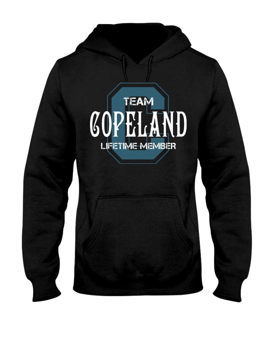 Team COPELAND - Lifetime Member Hooded Sweatshirt