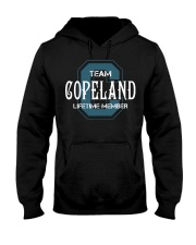 Team COPELAND - Lifetime Member Hooded Sweatshirt front