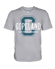 Team COPELAND - Lifetime Member V-Neck T-Shirt thumbnail