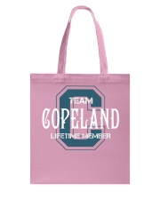 Team COPELAND - Lifetime Member Tote Bag thumbnail