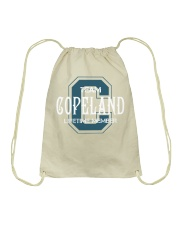 Team COPELAND - Lifetime Member Drawstring Bag thumbnail