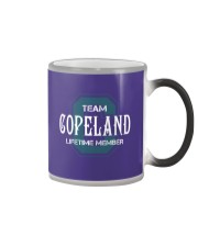 Team COPELAND - Lifetime Member Color Changing Mug thumbnail