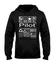 Pilot Hooded Sweatshirt front