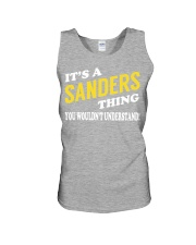 Its a SANDERS Thing - Name Shirts Unisex Tank thumbnail