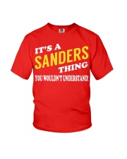 Its a SANDERS Thing - Name Shirts Youth T-Shirt tile