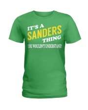Its a SANDERS Thing - Name Shirts Ladies T-Shirt tile