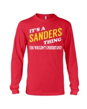 Its a SANDERS Thing - Name Shirts Long Sleeve Tee tile