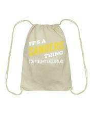 Its a SANDERS Thing - Name Shirts Drawstring Bag thumbnail