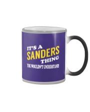 Its a SANDERS Thing - Name Shirts Color Changing Mug thumbnail