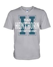 Team HENTHORN - Lifetime Member V-Neck T-Shirt thumbnail