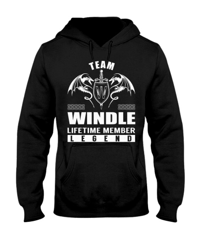 Team WINDLE Lifetime Member - Name Shirts