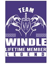 Team WINDLE Lifetime Member - Name Shirts Vertical Poster tile