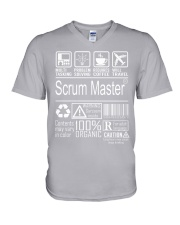 Scrum Master V-Neck T-Shirt thumbnail