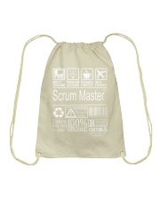 Scrum Master Drawstring Bag thumbnail