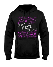 Its a BEST Thing - Name Shirts Hooded Sweatshirt front