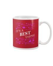 Its a BEST Thing - Name Shirts Mug thumbnail
