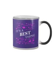 Its a BEST Thing - Name Shirts Color Changing Mug thumbnail