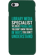 Library Media Specialist Phone Case thumbnail