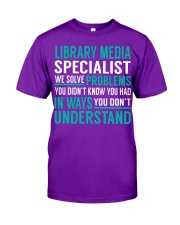 Library Media Specialist Classic T-Shirt thumbnail