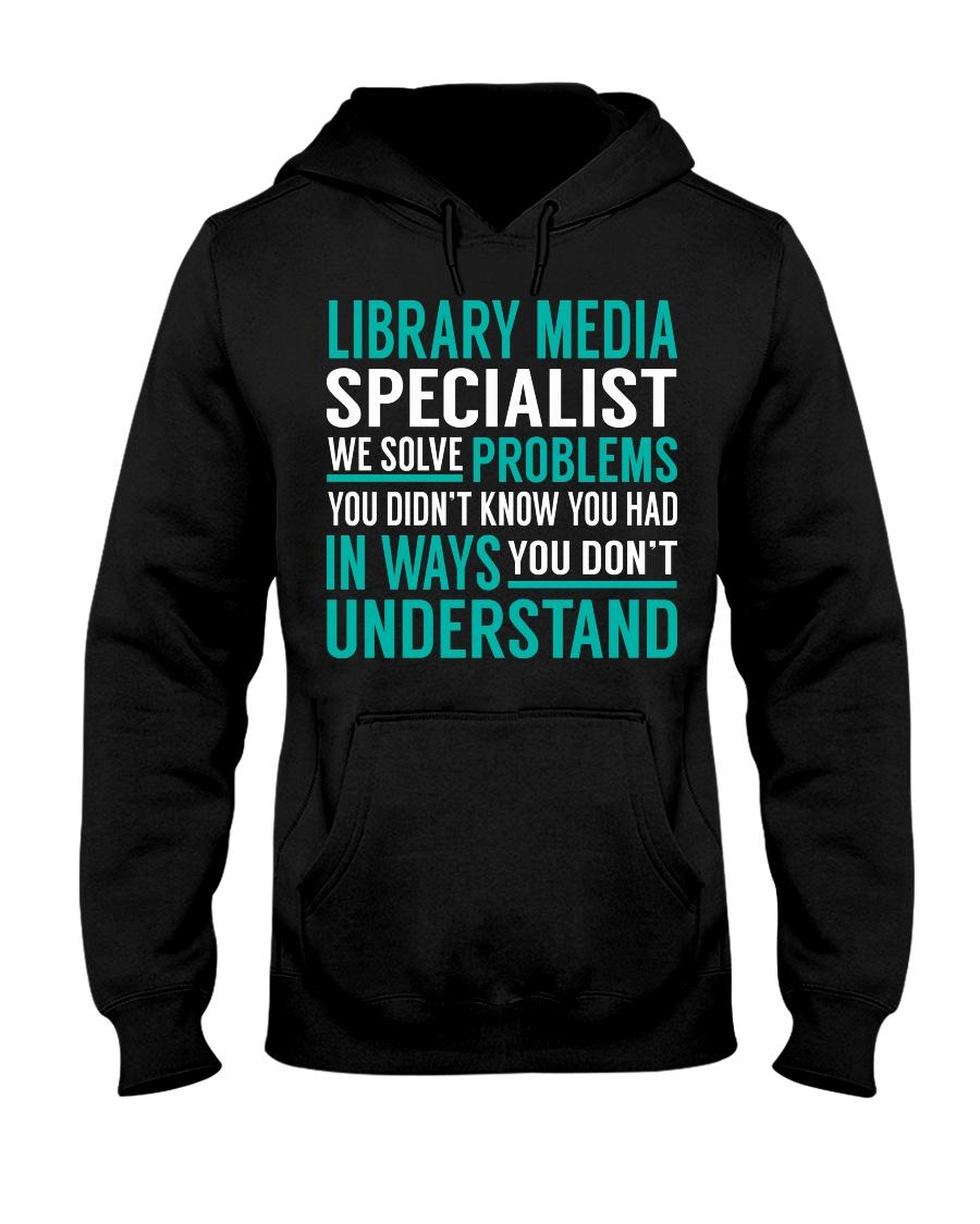 Library Media Specialist Hooded Sweatshirt