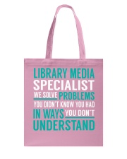 Library Media Specialist Tote Bag thumbnail