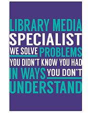 Library Media Specialist 11x17 Poster thumbnail