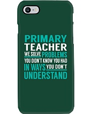 Primary Teacher - Solve Problems Job Shirts Phone Case thumbnail