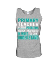 Primary Teacher - Solve Problems Job Shirts Unisex Tank thumbnail